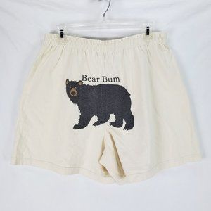 Hatley Organic Bear Bum Boxer Shorts XL